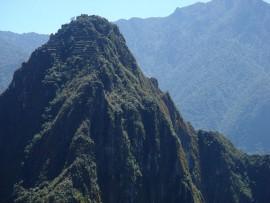 a hegycsúcson is vannak lépcsős teraszok