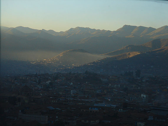 Cuzco hajnalban